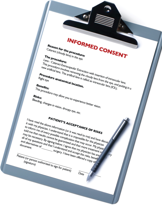 Ophthalmology Management  Make Your Informed Consent Bulletproof