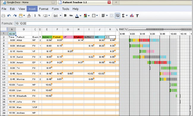 Patient Tracker Template. patient chart template 8 free word excel ...