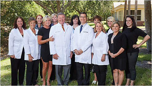 Dr. Pascucci and the staff of Eye Consultants of Bonita Springs.