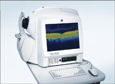 oct machine ophthalmology
