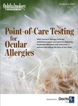 Point-of-Care Testing for Ocular Allergies