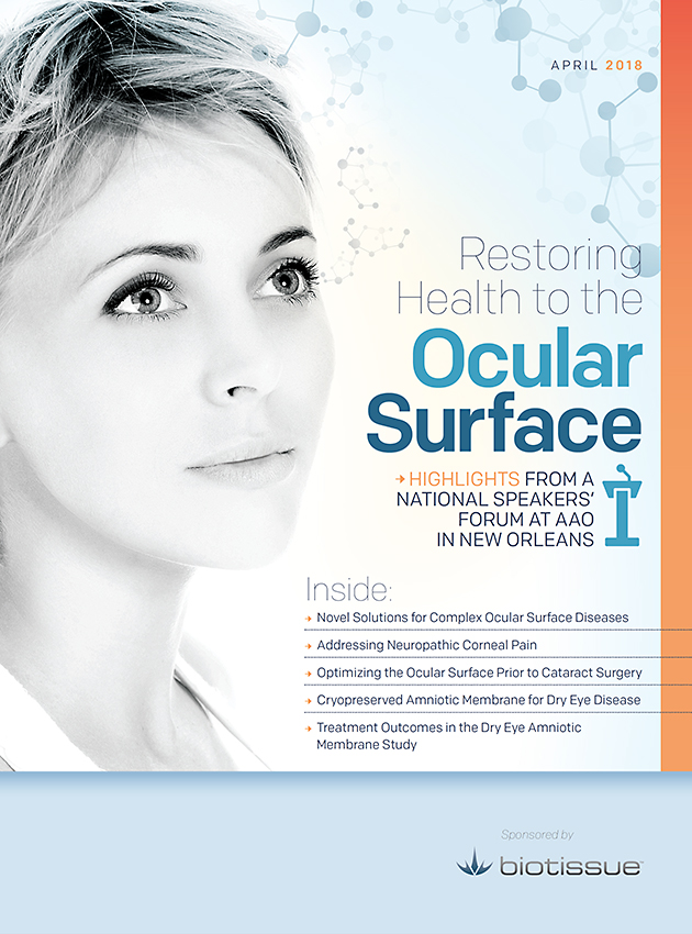 Restoring Health to the Ocular Surface