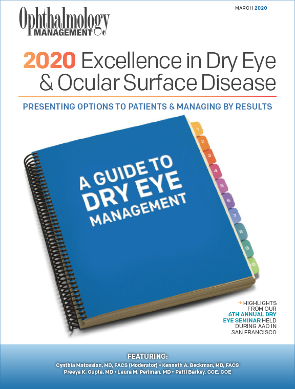 2020 Excellence in Dry Eye & Ocular Surface Disease