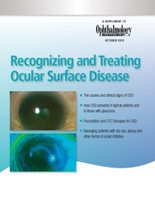 Recognizing and Treating Ocular Surface Disease