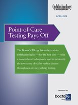 Point-of-Care Testing Pays Off