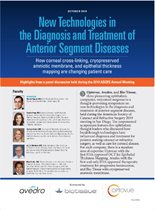 New Technologies in the Diagnosis and Treatment of Anterior Segment Diseases