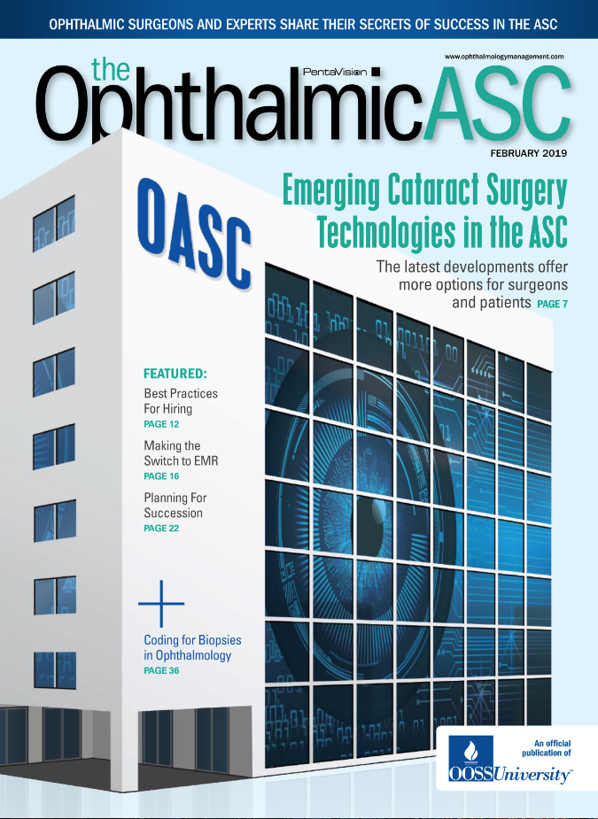 The Ophthalmic ASC — February 2019
