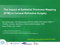 The Impact of Epithelial Thickness Mapping in Refractive Surgery