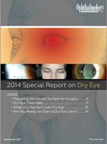 2014 Special Report on Dry Eye