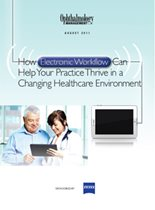 How Electronic Workflow Can Help Your Practice Thrive in a Changing Healthcare Environment