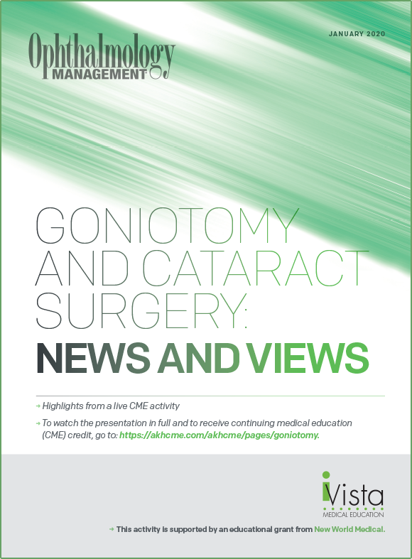 Goniotomy and Cataract Surgery: News and Views